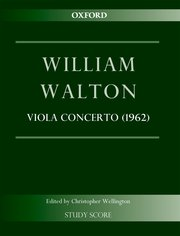 Cover for   Concerto for Viola and Orchestra (1962)