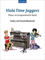 Cover for   Viola Time Joggers Piano Accompaniment Book