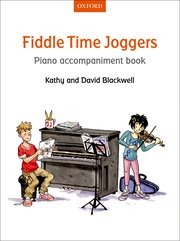 Cover for   Fiddle Time Joggers Piano Accompaniment Book