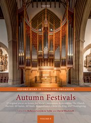 Cover for   Oxford Hymn Settings for Organists: Autumn Festivals
