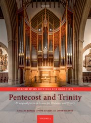 Cover for   Oxford Hymn Settings for Organists: Pentecost and Trinity
