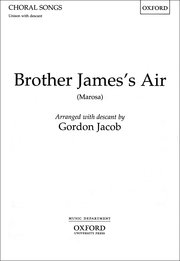 Cover for   Brother Jamess Air