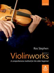 Cover for   Violinworks Book 2