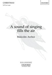 Cover for   A sound of singing fills the air