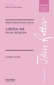 Cover for   Libera me