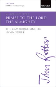 Cover for   Praise to the Lord, the  Almighty