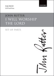 Cover for   I will worship the Lord