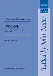 Cover for   Pavane