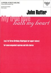 Cover for   My true love hath my heart