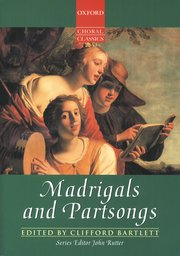 Cover for   Madrigals and Partsongs