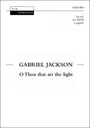 Cover for   O thou that art the light