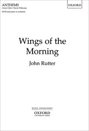 Cover for   Wings of the Morning