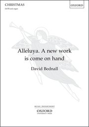 Cover for   Alleluya. A new work is come on hand