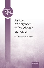 Cover for   As the bridegroom to his chosen