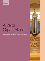Cover for   A Verdi Organ Album