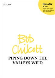 Cover for   Piping down the valleys wild