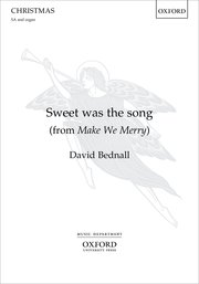 Cover for   Sweet was the song