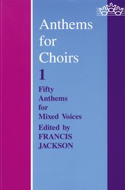 Cover for   Anthems for Choirs 1