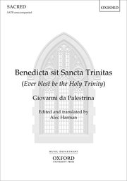 Cover for   Benedicta sit Sancta Trinitas
