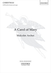 Cover for   A Carol of Mary