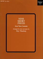 Cover for   Nine Short Pieces from Three Centuries