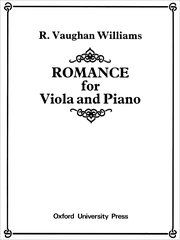 Cover for   Romance for Viola and Piano