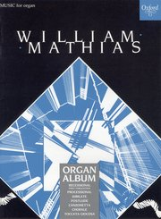 Cover for   A Mathias Organ Album