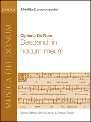 Cover for   Descendi in hortum meum