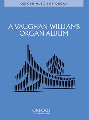 Cover for   A Vaughan Williams Organ Album