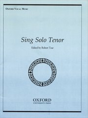 Cover for   Sing Solo Tenor