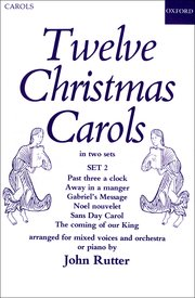 Cover for   Twelve Christmas Carols Set 2