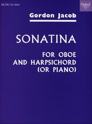 Cover for   Oboe Sonatina
