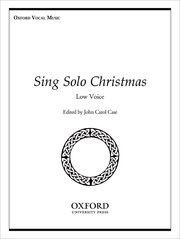 Cover for   Sing Solo Christmas