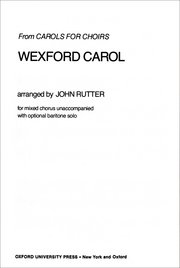 Cover for   Wexford Carol