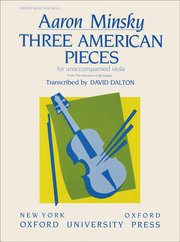 Cover for   Three American Pieces