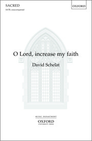 Cover for   O Lord, increase my faith
