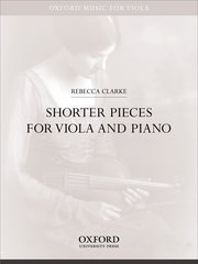 Cover for   Shorter Pieces for viola and piano