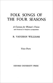 Cover for   Folk Songs of the Four Seasons
