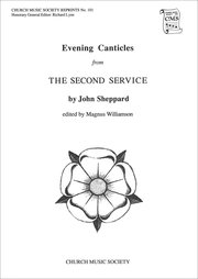 Cover for   Evening Canticles from the Second Service