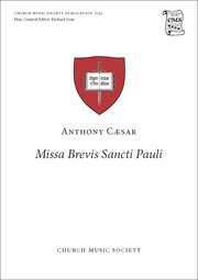 Cover for   Missa Brevis Sancti Pauli