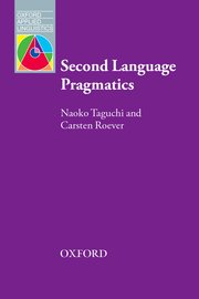 Cover for   Second Language Pragmatics