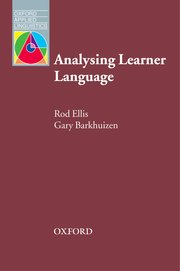 Cover for   Analysing Learner Language