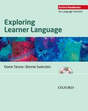 Cover for   Exploring Learner Language