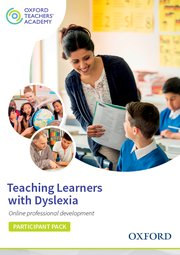 Cover for   Teaching Learners with Dyslexia Participant Code Card