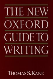 The New Oxford Guide to Writing
