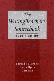 Cover for   The Writing Teachers Sourcebook