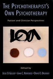 Cover for   The Psychotherapists Own Psychotherapy