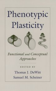 Cover for   Phenotypic Plasticity