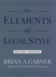 Cover for   The Elements of Legal Style