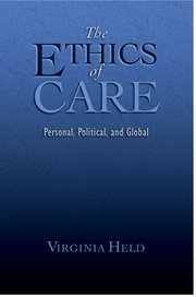Cover for   The Ethics of Care